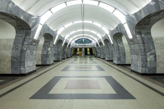 Московский Метрополитен, станция метро Чкаловская