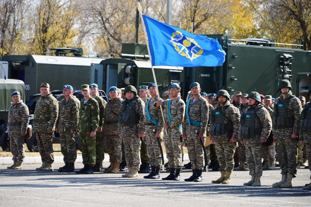 Объединённый штаб организации коллективной безопасности под охраной КОДОС