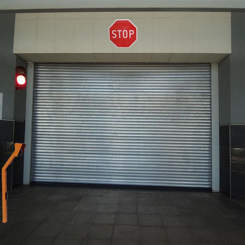 Организация въезда-выезда на подземные парковки