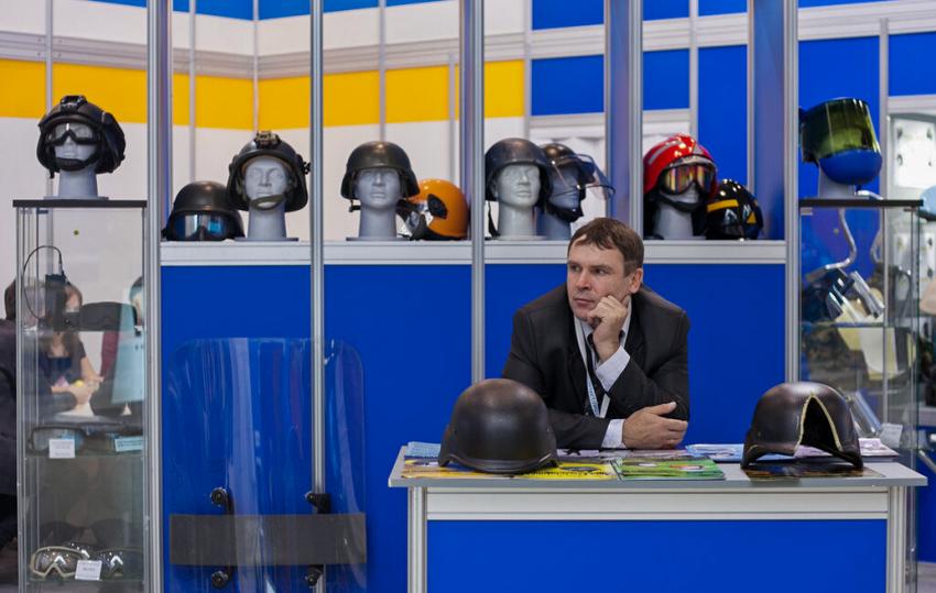 XV международная выставка полицейской и военной техники «Интерполитех».
