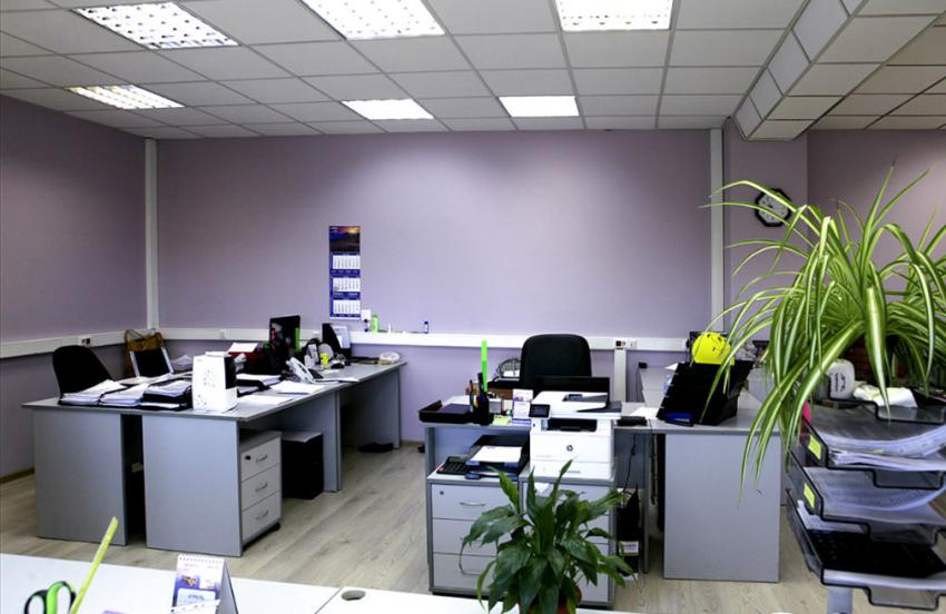 Контроль доступа от «КОДОС» в офисе ООО «ТК-Пинта» (Уфа)