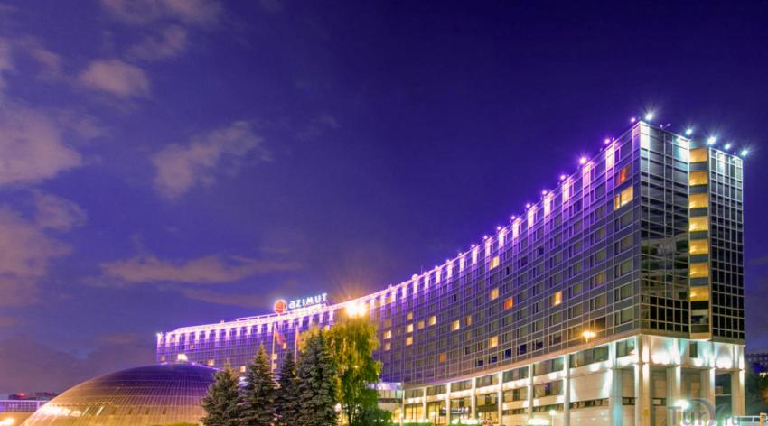 В головном офисе сети отелей Азимут установлена система контроля доступа «КОДОС»