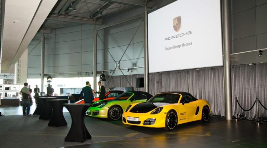 Завершены работы на объектах Porsche